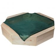 Woody 10303, Пясъчник с покривало, натурален