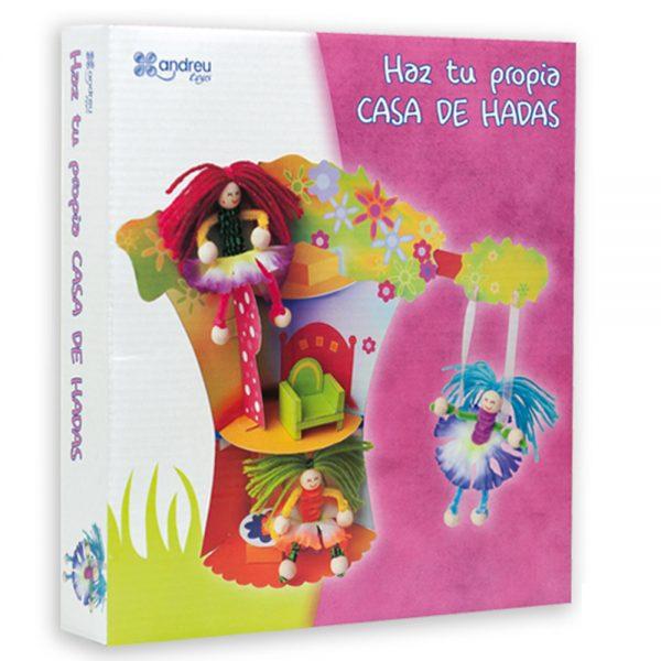 Andreu toys 1250049, Направи сама феи и къщичка за тях