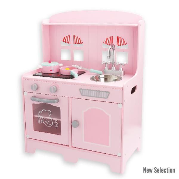 Andreu toys 15016, Розова кухня със звук и аксесоари