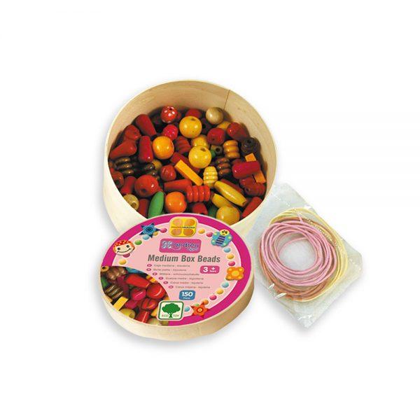 Andreu toys 16001, Кръгла кутия с мъниста