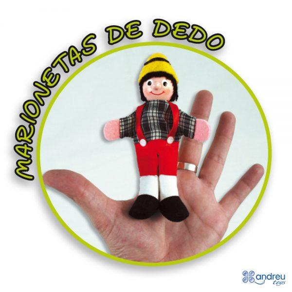 Andreu toys 16010, Кукли за пръсти, 12 броя