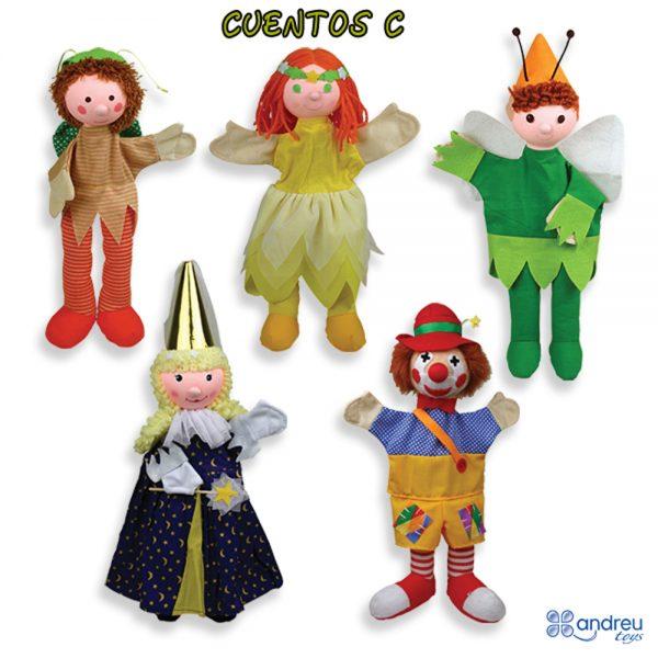 Andreu toys 16055, Кукла за ръка, Вълшебница