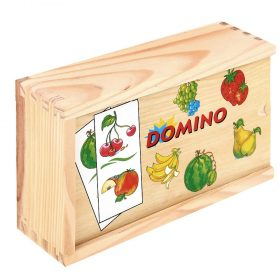 Woody 90100, Дървено домино с плодове