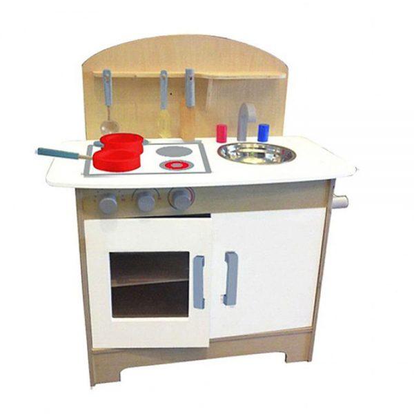 Woody 90249, Дървена кухня с аксесоари, Силвия