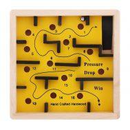 Woody 90458, Лабиринт 12 x 12, жълт