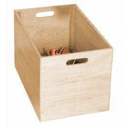 Woody 90578, Влакче с релси в дървена кутия, 170 части