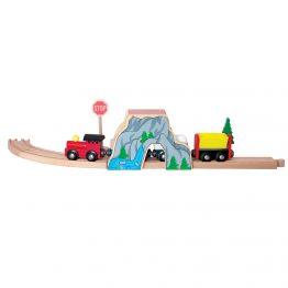 Woody 90585, Тунел