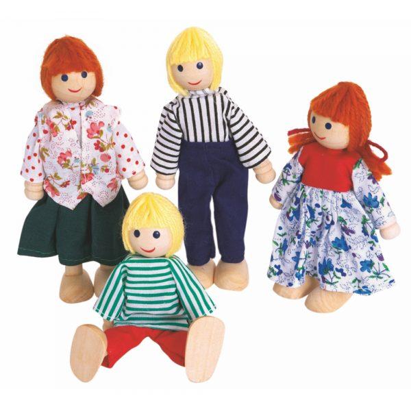 Woody 90603, Дървени кукли, семейство