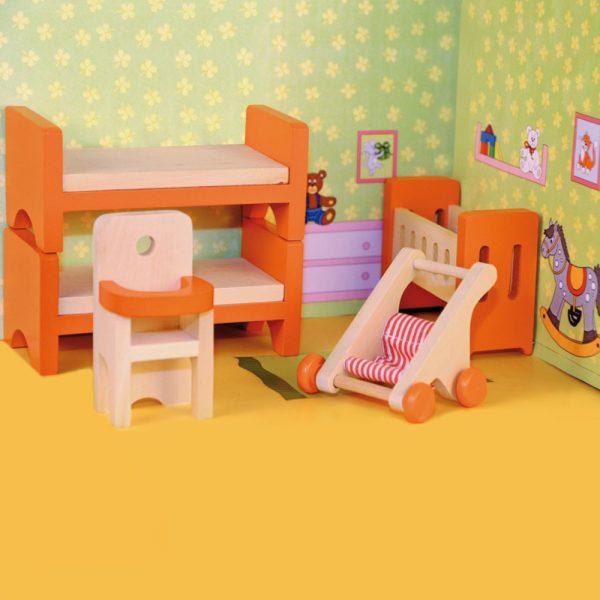 Woody 90613, Детска стая за кукли
