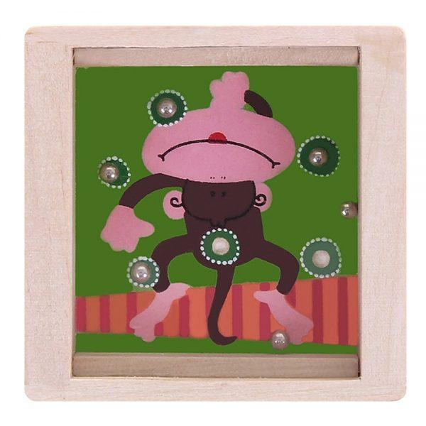 Woody 90767, Малък лабиринт с топчета, Маймуна