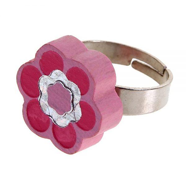 Woody 90925, Пръстенче, Розово цвете