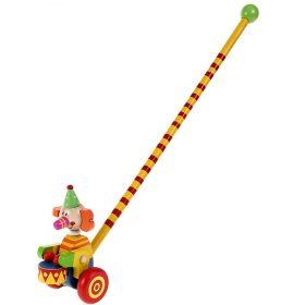 Woody 90989, Играчки за бутане, Слон с барабан