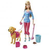 Barbie BDH74, Кукла Барби с кученце Тафи
