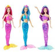 Barbie CFF28 Mix & Match, Кукла Барби, Русалка със лилава коса