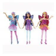 Barbie CFF28 Mix & Match, Кукла Барби, Лилава фея с крила