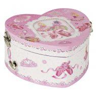 GOKI 15496, Музикална кутия сърце, Балерина