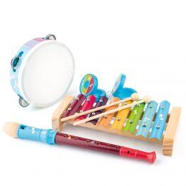 Woody 91153, Комплект дървени музикални инструменти