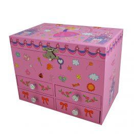 Trousselier S190939, Музикална кутия с чекмеджета Замъкът на феята