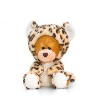 Keel Toys SB0757, Плюшено мече с костюм на леопард