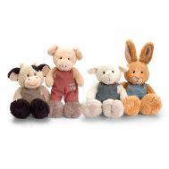 Keel Toys SF4893, Плюшена овца с гащеризон