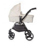 Комбинирана количка с твърд кош Мика 2 в 1, Chipolino, бежова