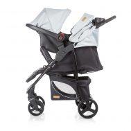 Детска количка със столче Пасо, сива, Chipolino