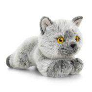 Keel Toys SC0950, Плюшена сива британска котка, 30 см