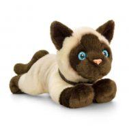 Keel Toys SC0951, Плюшена сиамска котка, 30 см