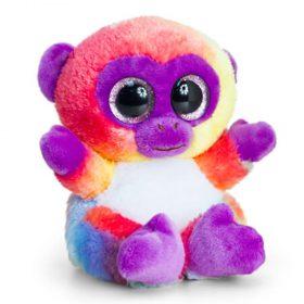 Keel Toys SF0959, Анимотсу, Плюшена цветна маймунка, 15 см