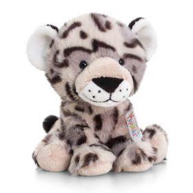 Keel Toys SF0970, Пипинс, Плюшена играчка, Снежен леопард, 14 см