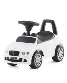 Кола за бутане с крачета, Bentley Continental GT, Chipolino, бяла