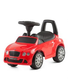 Кола за бутане с крачета, Bentley Continental GT, Chipolino, червена